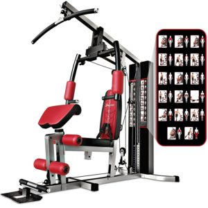 barre de traction station de musculation